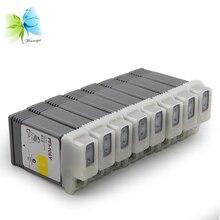 WINNERJET 8 Colors 130ML PFI-106 PFI 106 PFI106 Full Ink Cartridge for Canon IPF6400S IPF 6400S Printer