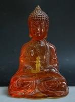 Старый тибетский Буддизм Amber Шакьямуни Амитабха Будды Шакьямуни татхагата статуя