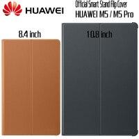 HUAWEI M5 Pro Case Official Original Smart View HUAWEI Mediapad M5 Cover Kickstand Flip Leather M5