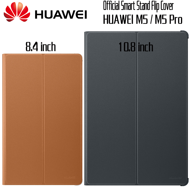HUAWEI M5 Pro Case Official Original Smart View HUAWEI Mediapad M5 Cover Kickstand Flip Leather M5 Case Tablet Cover 8.4 10.8 detachable official removable original metal keyboard station stand case cover