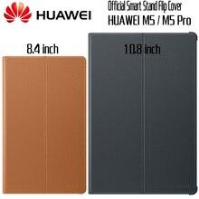 HUAWEI M5 Pro Чехол Официальный Оригинальный Smart View HUAWEI Mediapad M5 Обложка Kickstand Флип кожаный M5 чехол Tablet Обложка 8,4 10,8