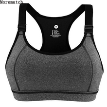 Woment Athletic Vest Padded Tank Top Gym Fitness Sports Bra Stretch Cotton Seamless Breathable Yoga Bras Underwear female set