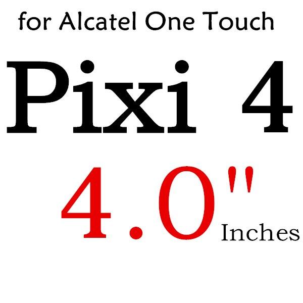 Экран протектор Закаленное Стекло для Alcatel One Touch Pop 3 5,5 5025D Idol 3 POP4 5051 4S Pixi 4 5,0 5010 Pixi3 4,5 5019D 5017 - Цвет: For PIXI4 4