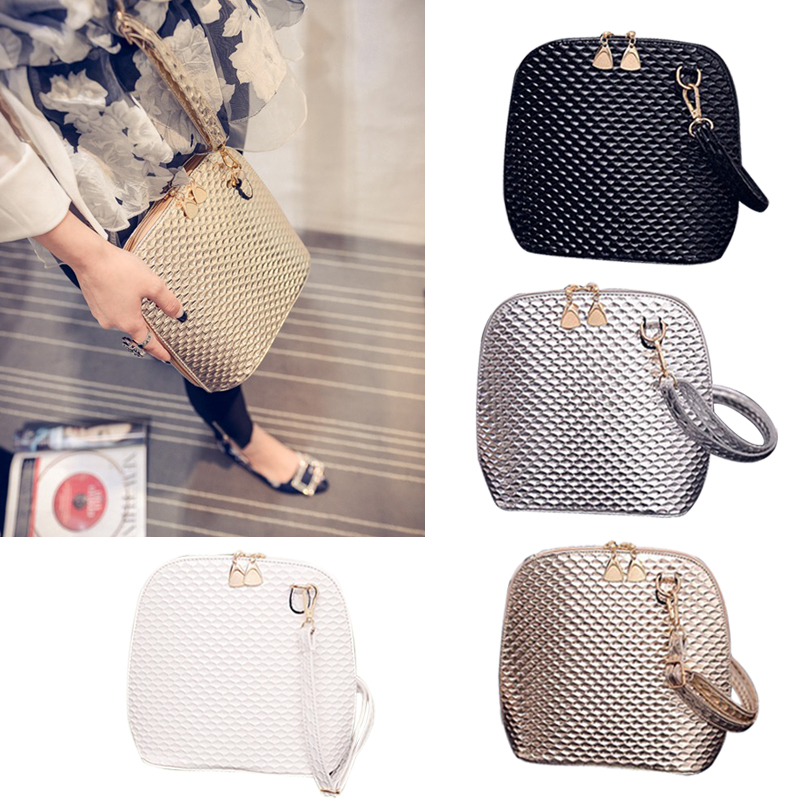 2019 New Crossbody Shoulder Women Messenger Bags Paint Bright Surface Scale Pattern Wave Styling Bags Women's Handbag