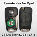 Remote Car Key 433MHz for VAUXHALL OPEL Corsa Astra Vectra Signum Tigra Meriva Zafira Keyless Entry Control
