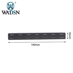 Image 5 - BCM M Lok 레일 패널 키트 (5 pcs) WADSN 전술 Airsoft M LOK 폴리머 핸드 가드 Picatinny 레일 커버 세트 (5 pcs) MP0214