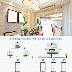 Image 5 - Tuya Vida Inteligente WiFi Tomada Interruptor módulo de Relé Disjuntor controle remoto google Casa Echo Alexa tomada de luz de automação residencial inteligente