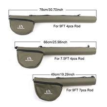 Maximumcatch Fly Fishing Rod Tube Triangle Rod Case Cordura Rod Storage For 7.5ft/9ft 4/7Sec Rod.