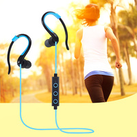 Newest Sports Bluetooth Headset Syllable Sweat Proof Sport Earphone Cordless Earpiece Noise Cancelling Stereo Wireless Earbuds