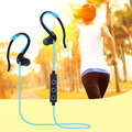 Sports Stereo Wireless Bluetooth Earphone Headphones With Mic Noise Cancelling Running Headset Cordless Earpiece for Phone
