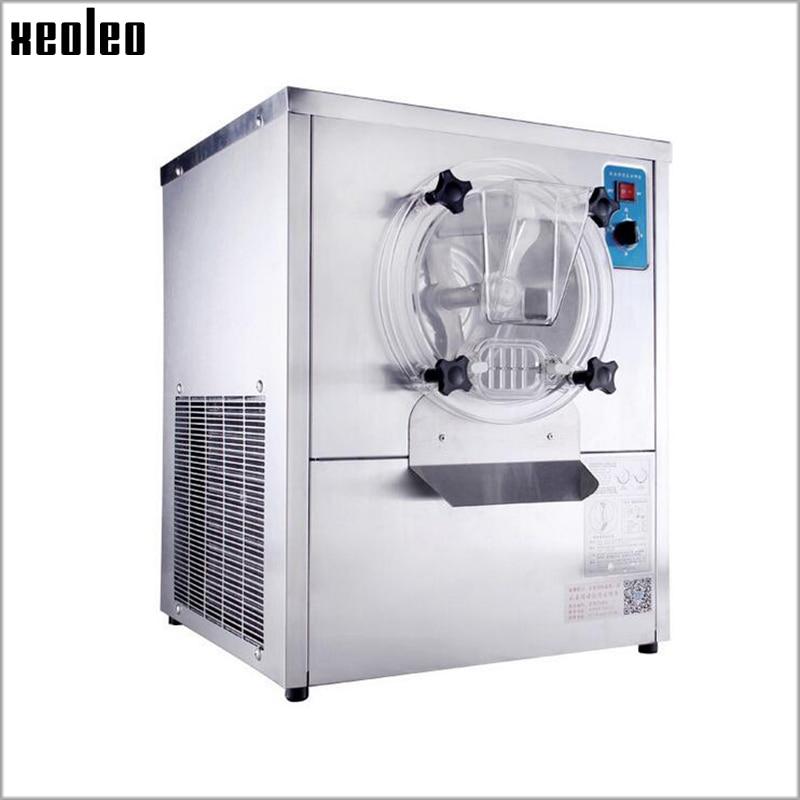 Xeoleo Ice cream maker Commercial Hard Ice cream machine 12-15L/H 1500W 220V Stainless steel Automatic Ice cream machine  недорого