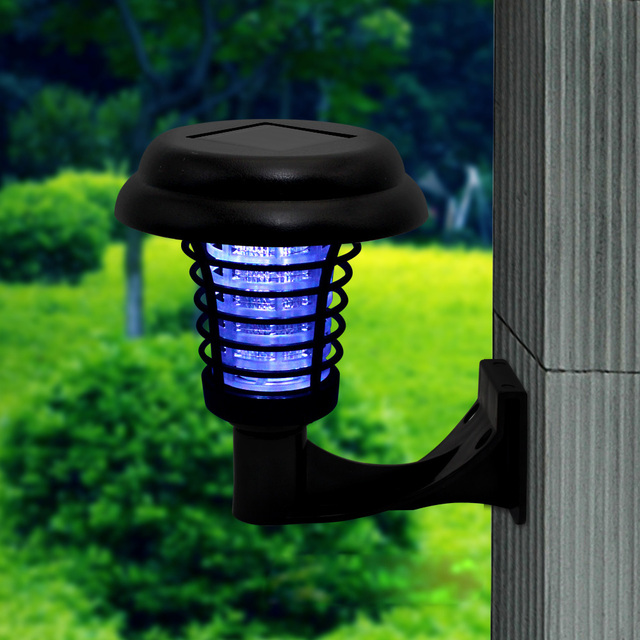 Led Solar Mosquito Repellent Bug Zer Uv Lamp Insect Pest Outdoor Garden Lawn Landscape Light