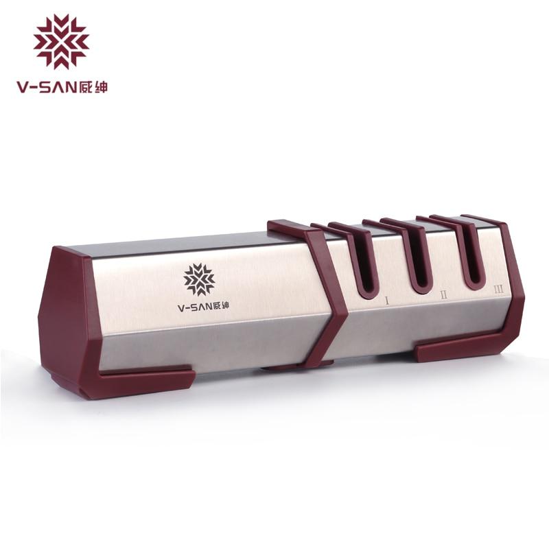 V SAN Professional Kitchen Knife Sharpener Diamond and ...