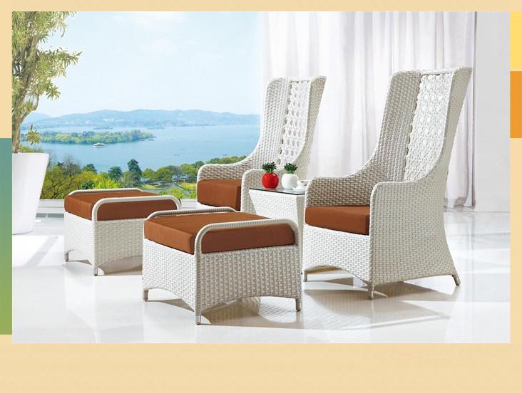 garanta comercial marco de aluminio barato casa circular de mimbre al aire libre muebles de