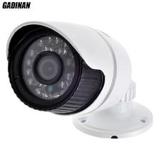 Gadinan 1280*960P 1.3MP ONVIF 2.0 Waterproof Outdoor IR CUT Night Vision P2P Plug and Play Mini Bullet IP Camera