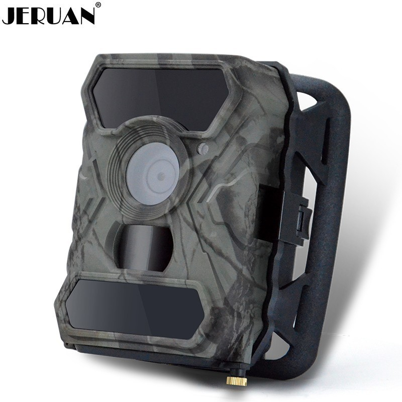 JERUAN Scouting Trail Sport Video Recorder IR Detection 12MP Photo Life Animals Flower Observation Night Hunting Camera