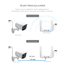 IP Wifi Camera 1080P 960P 720P ONVIF Wireless Wired P2P 2MP CCTV Bullet Outdoor Camera With SD Card Slot Max 64G
