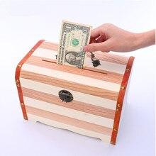 cosmeticos Money Case Wooden