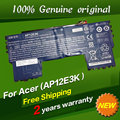 Free shipping AP12E3K 1ICP3/65/114-2 1ICP5/42/61-2 Original laptop Battery For ACER Aspire S S7 Ultrabook Series