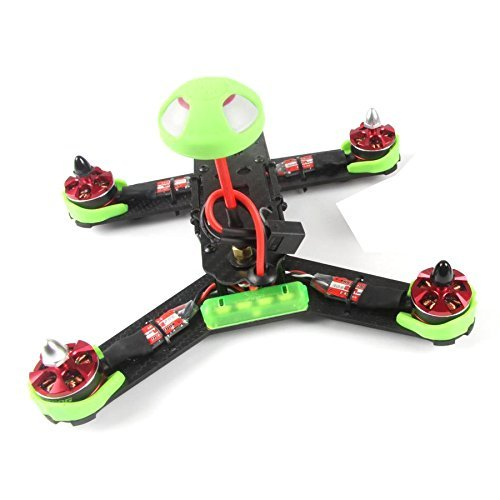 F18215 210GT 210mm Mini Quadcopter FPV Racing Drone PNP Combo Kit ARF with SP F3 Flight Control / CCD Camera - Green