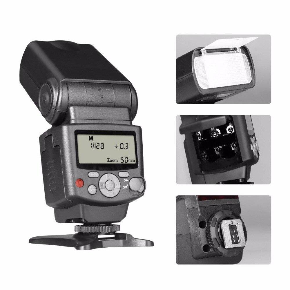 Voking VK430 E-TTL ÉCRAN LCD Speedlite Chaussure Flash intégré pour Canon EOS 70D 77D 80D Rebelles T7i T6i T6s T6 T5i T5 T4i T3i SL2 - 2