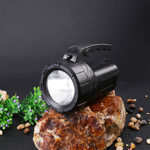 New Design Super Bright Lantern Hunter Lamp Portable Flashlights Led Searchlight Rechargeable Long Range Outdoor Flashlight