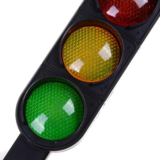 1pcs Time Limited New Trains Slot Kid Child Traffic Light Signal Lamp Toy  Mini Cars