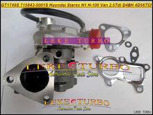GT1749S 715843-5001 S 715843-0001 715843 28200-42600 Turbo Für Hyundai Starex H1 H200 H-1 licht lkw H-100 Van 2.5L D4BH 4D56TCI