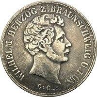 German States 1844 CvC 2 THALER(3 1/2 Gulden) 90% Silver Copy Coin