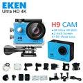 """4 K câmera de Ação 100% Eken H9R Ultra HD 4 K/30fps 1080 P esporte Wi-fi 2.0 """"170d capacete câmera à prova d' água mini cam gopro hero 4 chiqueiro"""