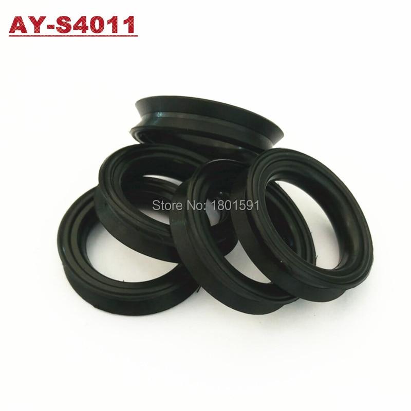 Livraison gratuite 500 pièces auto pièces carburant injecteur caoutchouc joints viton orings avec Concave convexe forme pour voitures AY-S4011
