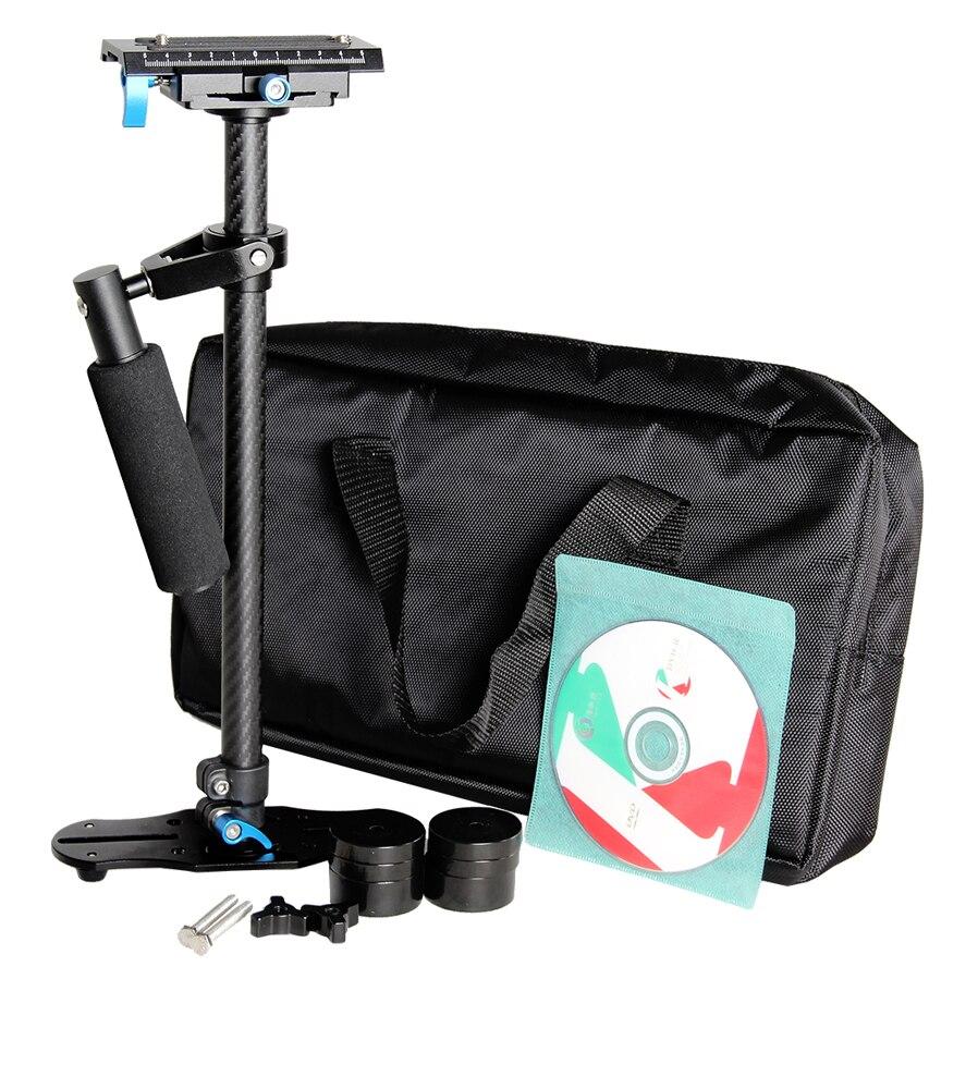Professionnel Fiber De Carbone Dslr Stabilisateur Vidéo Steadycam Caméscope Cam Steady Glidecam Cinéma Système pour DSLR DV - 5