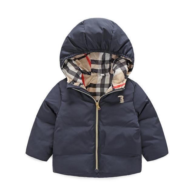 Venda quente Meninos Moda Jaqueta de Inverno Crianças Casaco de Inverno Com Capuz Crianças grossas Para Baixo Parkas de Alta Qualidade Outwear Para Meninos E meninas