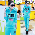 New Autumn Women Tracksuits 2 Piece Sets Pullover Sweatshirt and Pants women Hoodies Suits 5 color