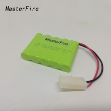 MasterFire 9PACK/LOT New Original AA 6V 1800mAh Ni-MH Battery Rechargeable Batteries Pack With Plugs