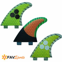 FCS G5 Fins 3Pcs Surfboard Thruster Fiberglass Honeycomb Surf Fins High Quality SUP Long Board fins
