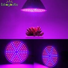 15 Вт Светодиодный светильник для выращивания растений красный/синий светодиодный светильник для выращивания растений лампа для выращивания цветов светильник для выращивания овощей Гидропоника