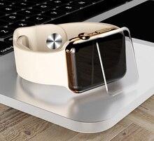 9H 3D UV Nano Liquid full Glue Tempered Glass For Apple Watch 38 42 40 44mm Screen Protector 4 3 2 1Series