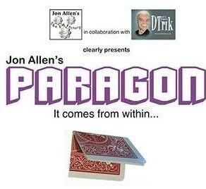 Paragon By Jon Allen Magic Tricks
