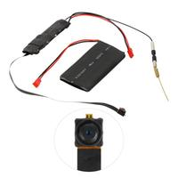 DIY Camera Module Mini Wifi Camera HD 1080P Camcorder P2P Motion Detection Video Security with 2.4G RF Remote App Control