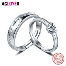 Настоящее серебро 925 пробы свадебное кольцо aaa кубический