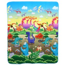 Baby Gym Play Mat Toy Children's Room Accessories Floor Rug Soft Carpet Dinosaurs Paradise Foam Crawling Hobbies Baby Toddler(China)