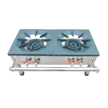Commercial Gas Cooktop Stainless Steel Dual-cooker Cooktop Liquefied Gas Cooking Stove Energy-saving Cooking Oven Stove