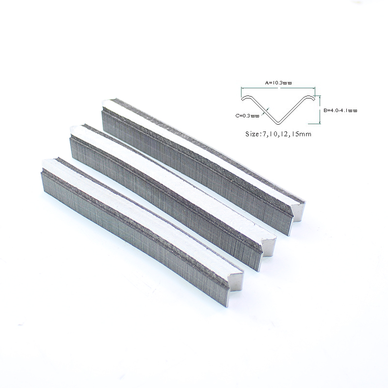 3872PCS Pneumatic Nailing Gun Nails V Nails For V1015 Pneumatic Nailer For Ordinary Wood Use 7MM/8MM/10MM/12MM/15MM