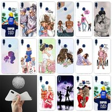 Silicone Cover Phone Case Baby Women Mom For Huawei Honor 10i 20 Pro 9X Lite 8a 8x max 8c 7x 7a pro 6x V20 Paly Soft