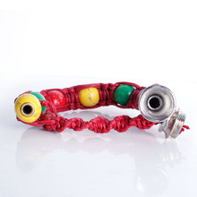New Portable Metal Bracelet Smoke Smoking Pipe Jamaica
