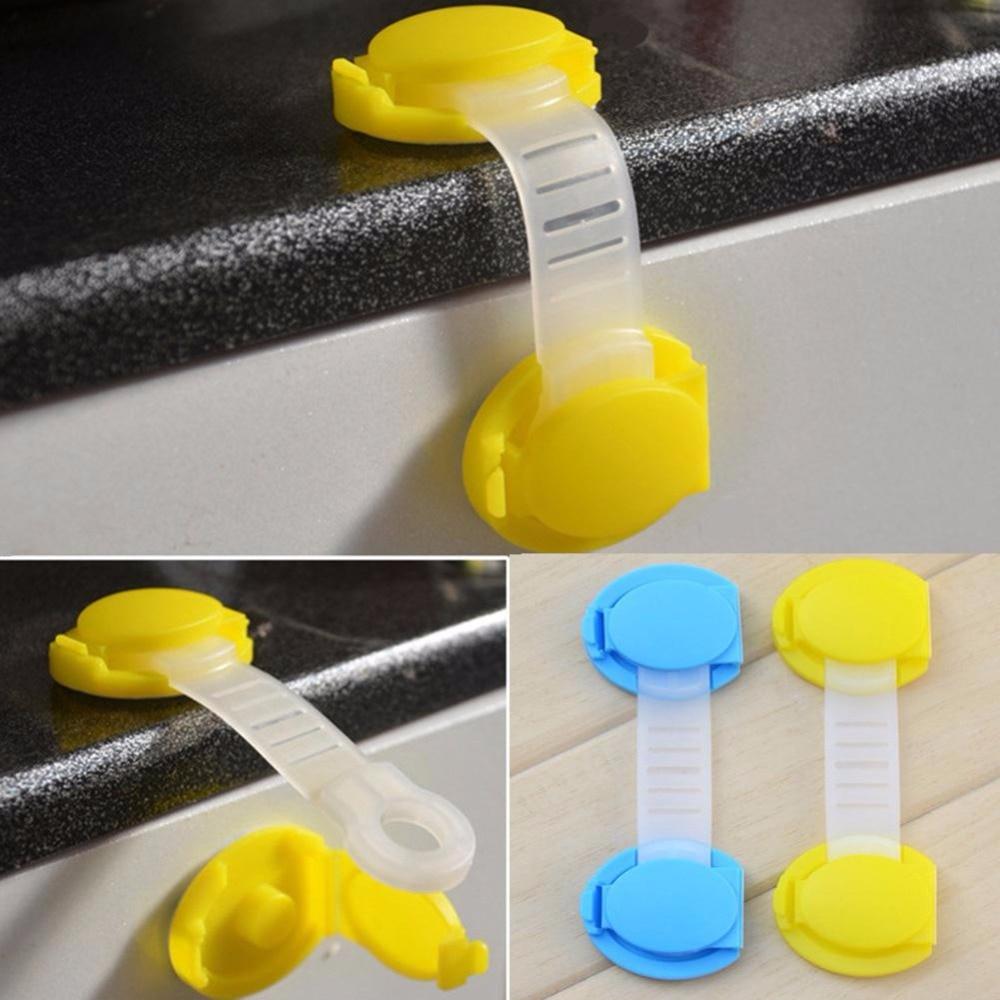 Baby Children Safety Lock Box Drawer Cupboard Cabinet Wardrobe Door Multi-functional Protector Short Style