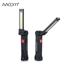 800 Lumen COB LED Portable Spotlight 5W 10W Working Lights With Magnetic 5 Modes USB Rechargeable High Brightness Energy Saving