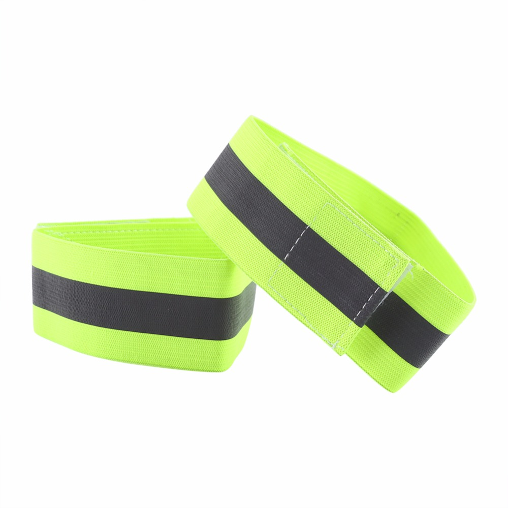 Outdoor Tools Back To Search Resultssports & Entertainment Confident 1 Pair Safety Reflective Warning Band Cycling Running Walking Warning Armband Elastic Reflective Safety Belt Wristbands Terrific Value