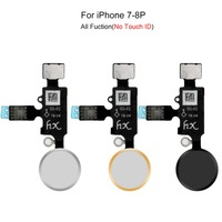 Newest Universal Home Button for iPhone 7 7 Plus 8 8 Plus Flex Cable Assembly Return Function No Touch ID Replacement Parts